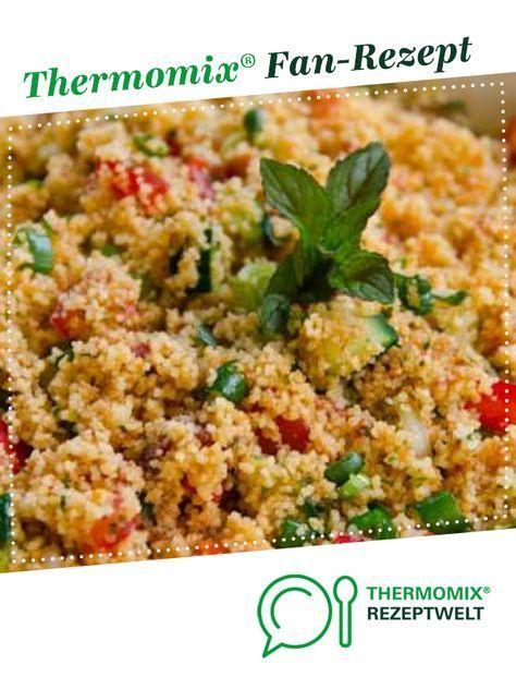 Couscous Salat – Salat, Dressing und Dip