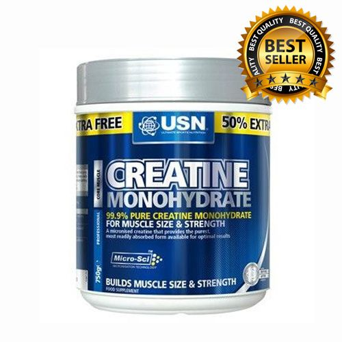 USN CREATINE MONOHYDRATE 750G OUR PRICE:£16.95