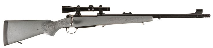 American Hunting Rifle CZ 550 Bolt Action Rifle with Leupold Scope and Reloading Dies