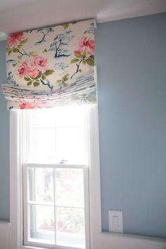 DIY Roman Shade | DIY Roman Shade Tutorial | Step-by-step directions roman shade All Things Big and Small Blog