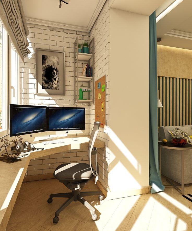 Фото из портфолио Квартира программиста  – фотографии дизайна интерьеров на InMyRoom.ru