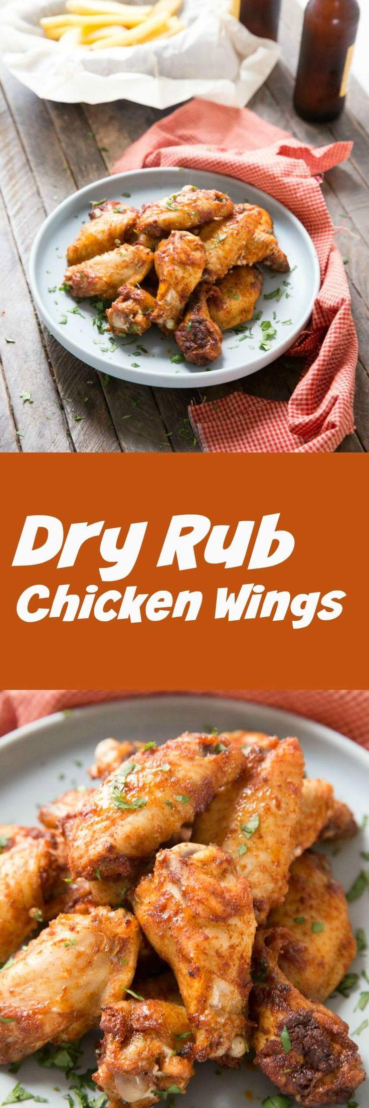 Wings are everyone's favorite! Skip the sauce and try out this dry rub chicken wing recipe!  You are going to love the spice and the flavor! via @Lemonsforlulu