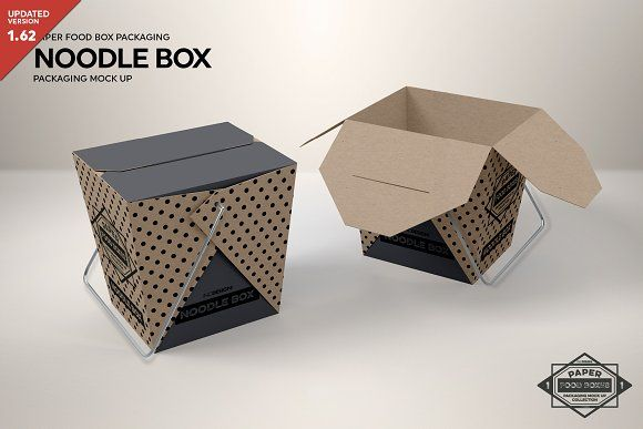 Download Noodle Box Packaging Mockup Packaging Mockup Free Packaging Mockup Design Mockup Free