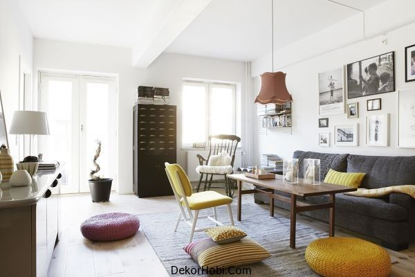 İskandinav Salon Takımları İskandinav Tarzı Oturma Odası Tasarımları