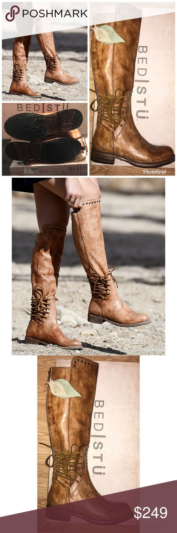Bed stu loxley boots free people tall boot tan