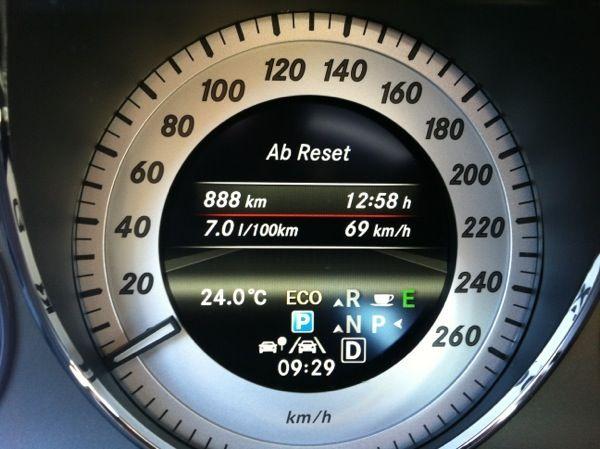 888 km im Mercedes-Benz GLK 220 CDI