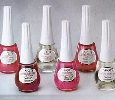 Vintage Avon nail polish. I remember these bottles!