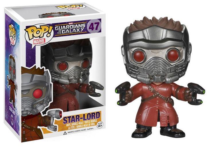 Guardians of the Galaxy POP! Vinyl Figur Star-Lord 10 cm  Guardian of the Galaxy - Hadesflamme - Merchandise - Onlineshop für alles was das (Fan) Herz begehrt!