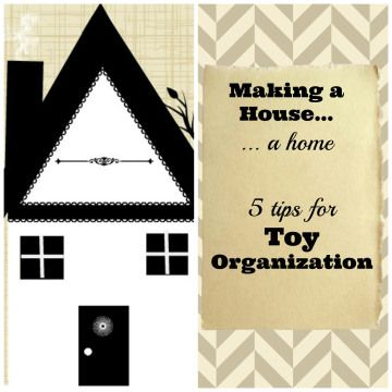 5 fabulous tips for toy #organization!