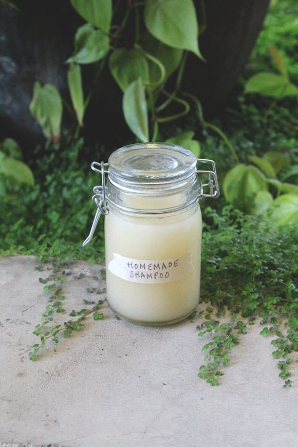Homemade Shampoo - All Natural Summer Hair Care | Free People Blog #freepeople