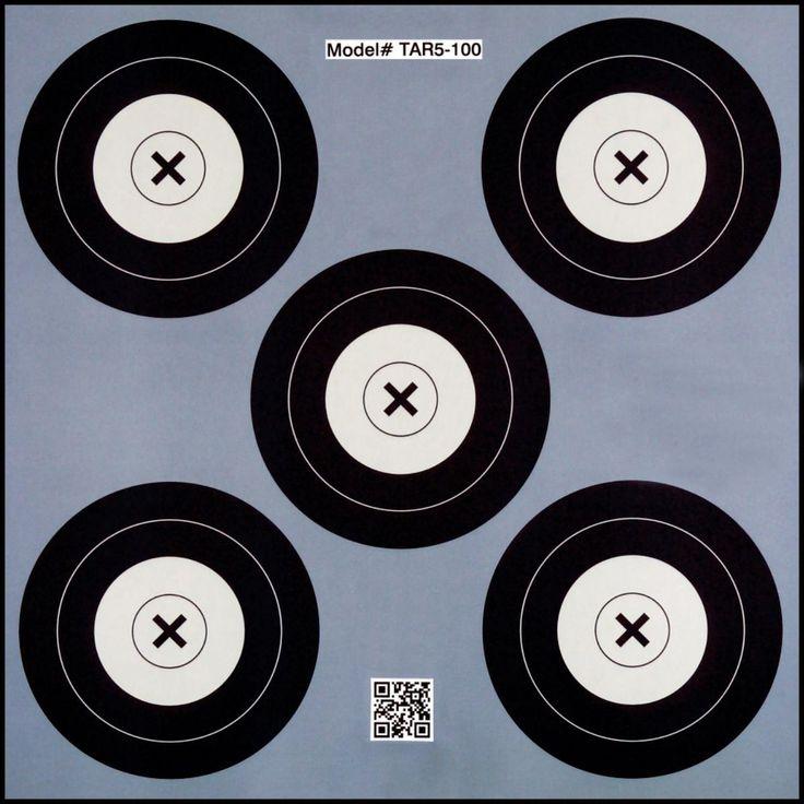 .30-06 5 Spot Paper Target 100 Count