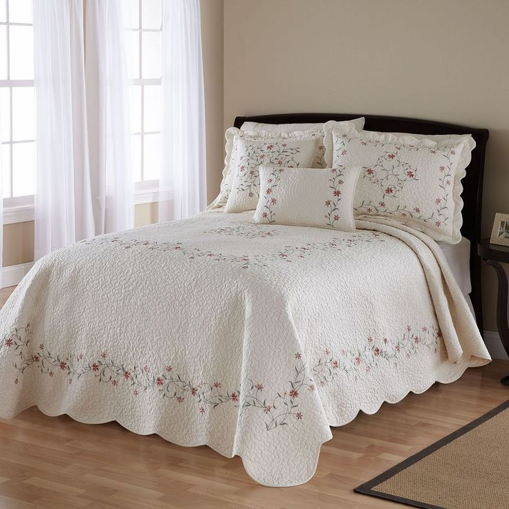 Amber Quilted Bedspread, Multicolor