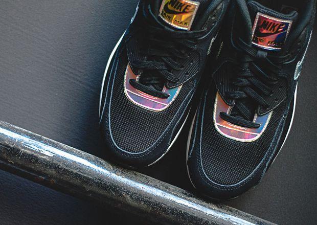 #Nike Air Max 90 Premium Iridescent #sneakers