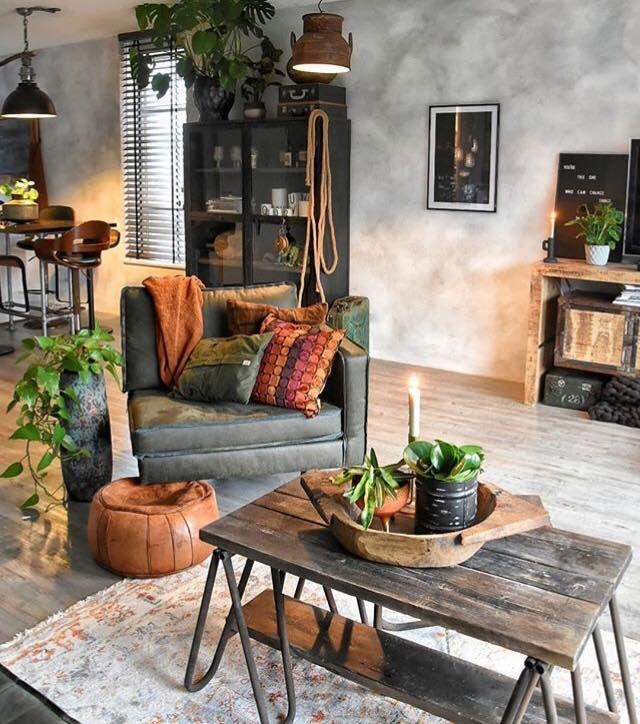 Pin By Liis Jurken On Inspiration Rustic Living Room Living Room Decor Colors Living Room Decor