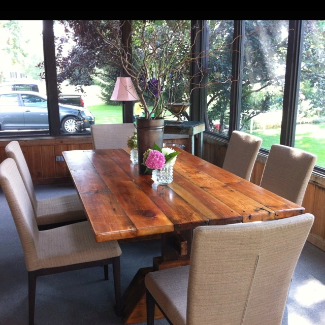 Barn Lumber Furniture: 17 Best Images About Barn Wood Tables On Pinterest