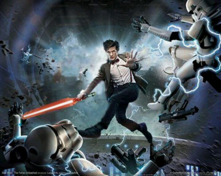 Doctor Who/Star Wars crossover Doctor who Pinterest