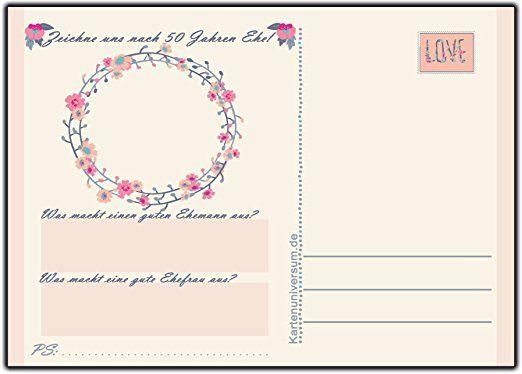 50 Karten Hochzeitsspiel für die Gäste zur Hochzeit modern im Vintage Look + süssen Blumen Pastell-/Cremefarben abgestimmt Hochzeitsgästebuch Postkarten: Amazon.de: Bürobedarf & Schreibwaren