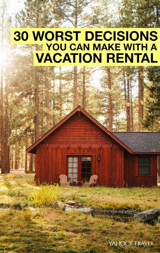 "First, let's first define vacation rentals. Rooms, cabins, cottages, houses, condos, villas, apartments, RV's, houseboats, guesthouses, and even tents that are rented by the night are collectively called ""vacation rentals."" Renting these private accommodations may be the best vacation decision you'll"