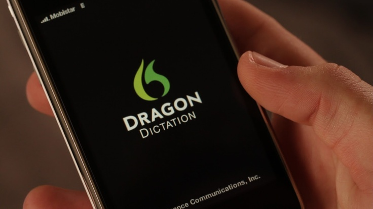 Dragon Dictation - FREE iphone app.  Such a great tool for students who struggle with spelling