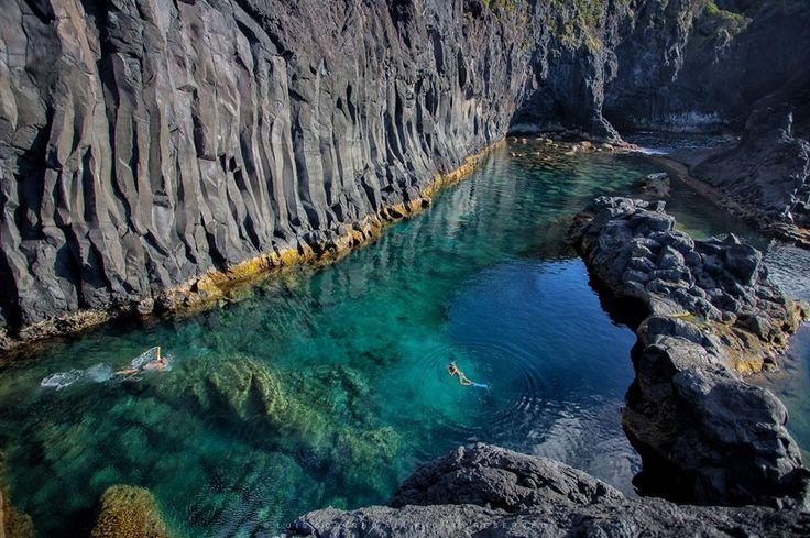 Poça Simão Dias - Fajã do Ouvidor, São Jorge Island, Açores (Azores)- Portugal