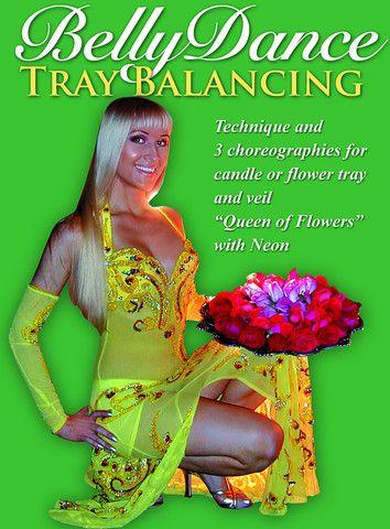Belly Dance Tray Balancing: Technique & 3 Choreographies with Neon #bellydance #bellydancer #bellydancing #dance #dancer  Dance, fitness, modeling instruction / classes  - instant video / DVD / iPhone, iPad Apps: http://www.WorldDanceNewYork.com