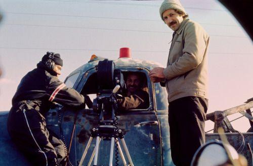 On the set of Stroszek