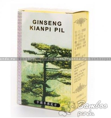 Капсулы Гинсенг Кианпи Пил Ginseng Kianpi Pil - китайский препарат общеукрепляющего действия