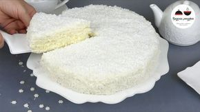 """Лучший новогодний торт """"Снежинка"""" - нежный как пух"""