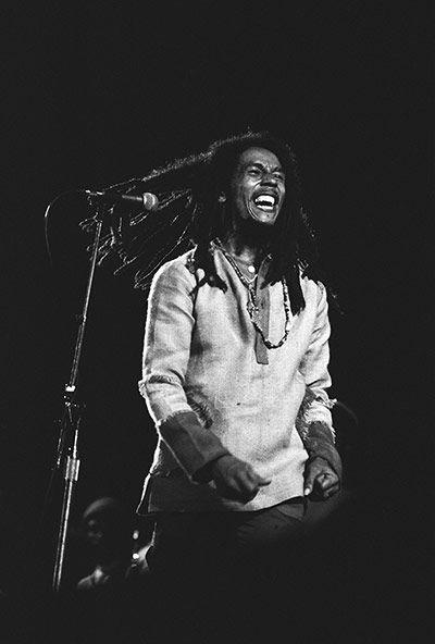 Reggae = Bob Marley  Kingston One Love concert 1978, photo by Freud PR