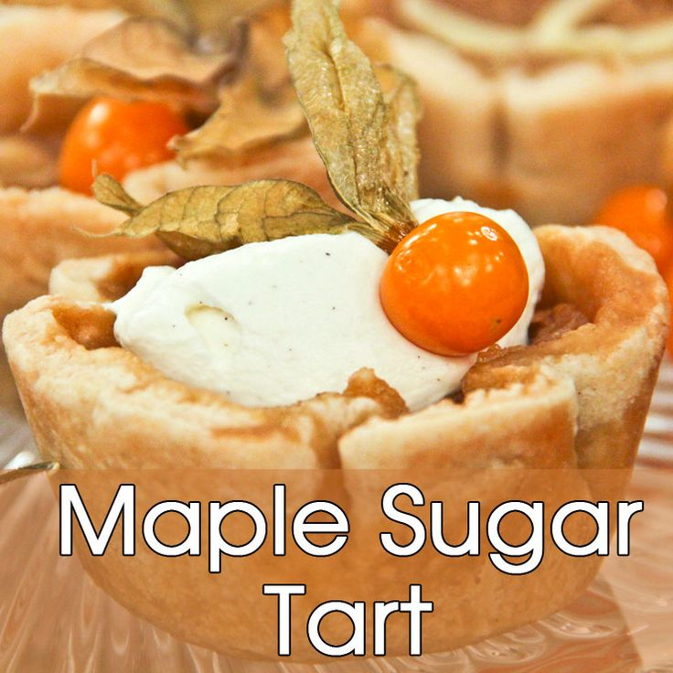 A 100-year-old recipe for maple sugar tarts or pie.