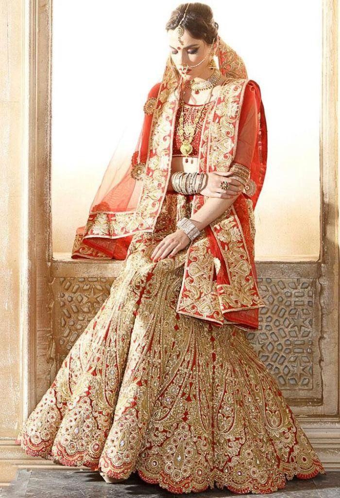 Beige Raw Silk Designer Lehenga Choli 42129