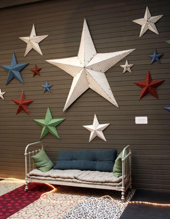 étoiles Amish  chez SERENDIPITY