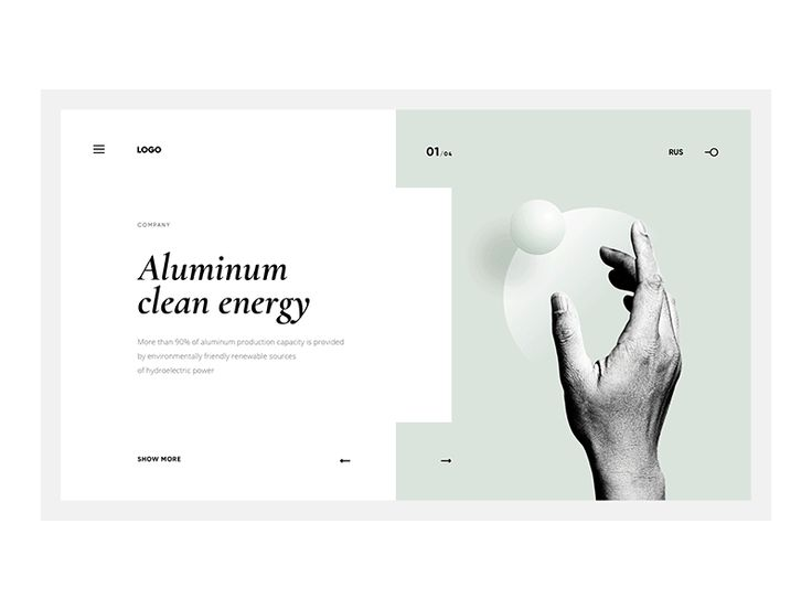 Visual Exploration for corporate site