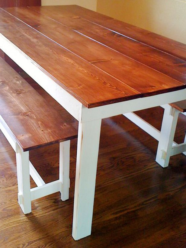 Modren How To Make Your Own Kitchen Table Find This Pin And More On Verf Je Design Inspiration
