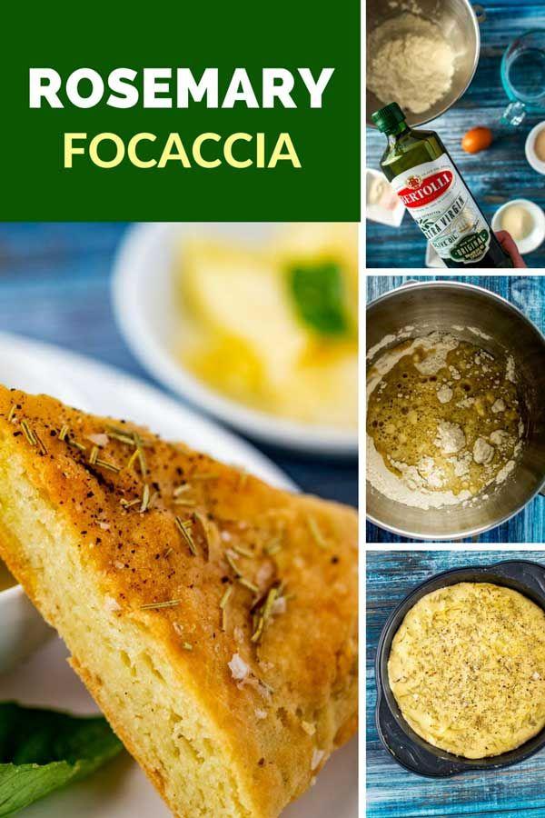 Gluten Free Focaccia With Rosemary Recipe Focaccia Gluten Free Focaccia Rosemary Focaccia
