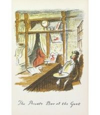 The Private Bar at the Goat From The Local, a series of lithographs depicting London pubs.
