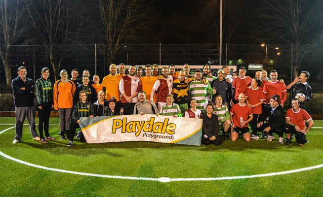 Playdale Playgrounds' Festive Football Tournament 2015