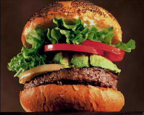 アメリカンサイズのハンバーガーショップ
