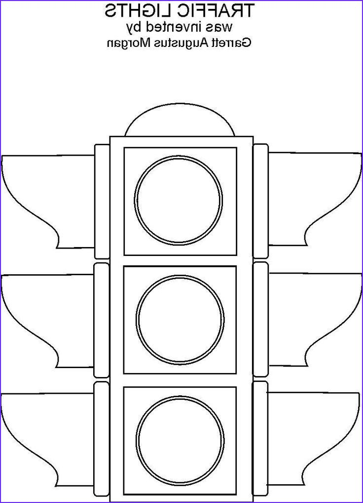 9 New Stop Light Coloring Page Image Traffic Light Coloring Pages For Kids Coloring Pages