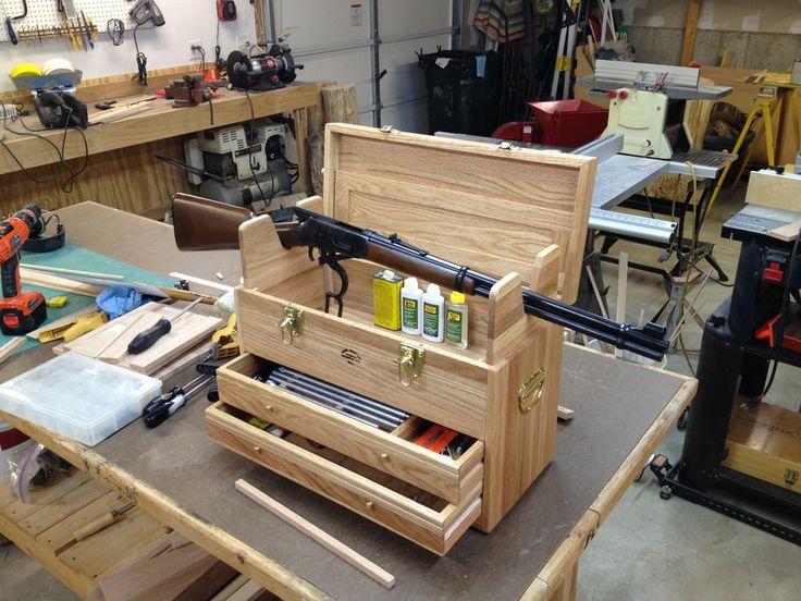 diy gun cleaning box 2