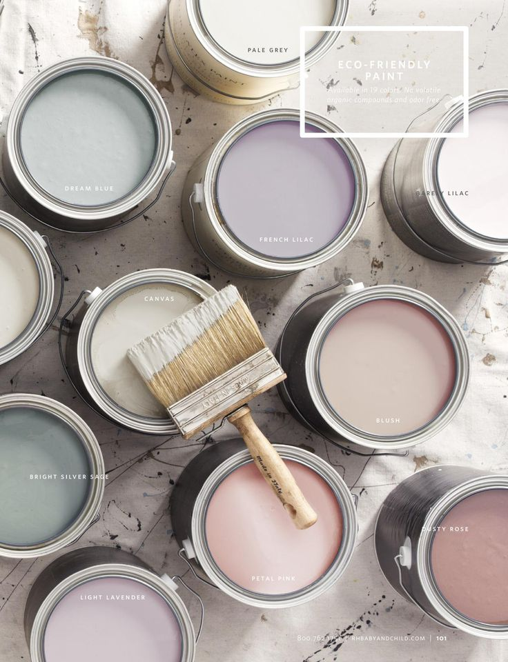 Restoration Hardware paint choices