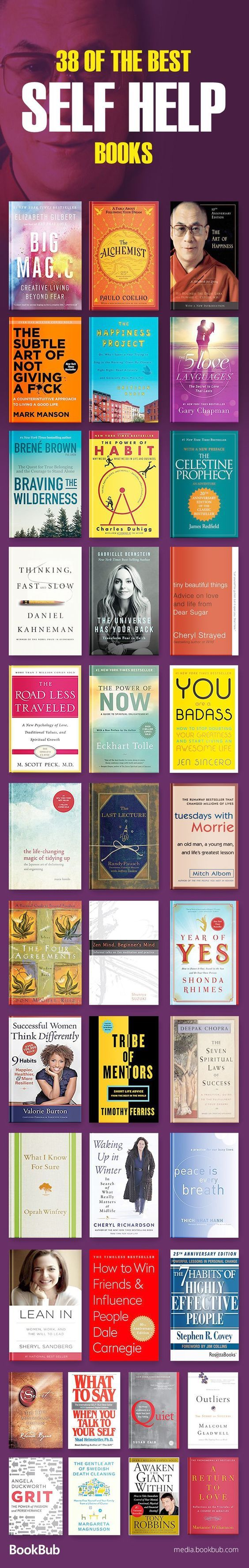 Great list of self help books for women, teachers, young adults, and more. Including inspirational books on personal development, depression, relationships, happiness, confidence, and more. Add these to your 2018 reading list!