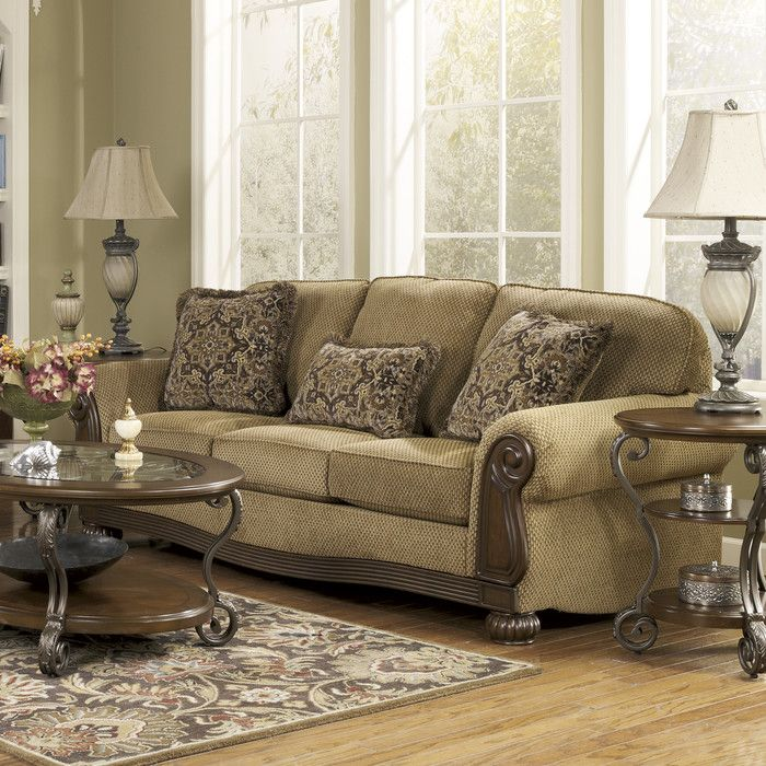 "91"" x 40"" x 40"" sofa  Only sold as set. Signature Design by Ashley Taylor Living Room Collection You'll Love 
