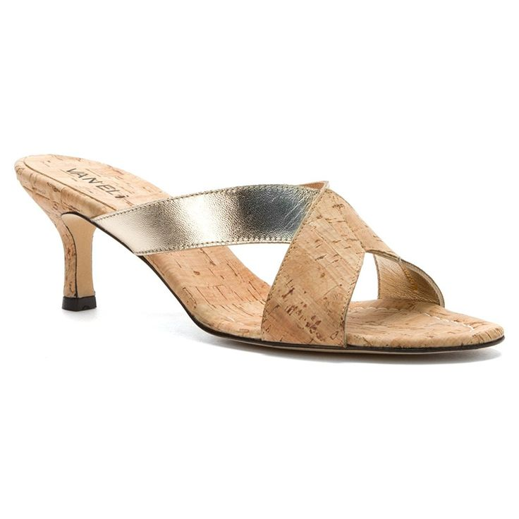 VANELi Women's Millie Platino Nappa 7 N US * For more information, visit now : Slides sandals