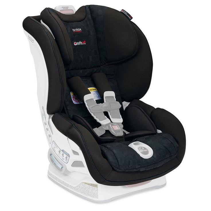 Britax Boulevard ClickTight Convertible Car Seat Cover Set, Black