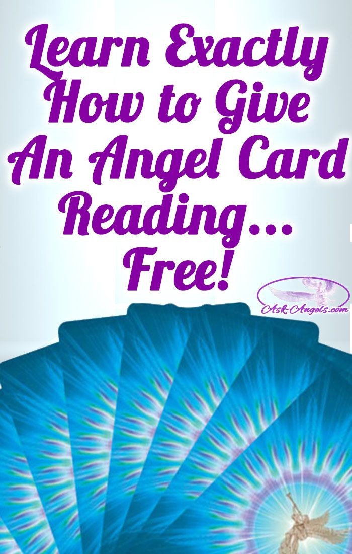 Learn Exactly How to Give An Angel Card Reading... Free!