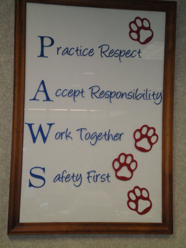 Brookview Elementary Quot School Motto Quot In The Main Office