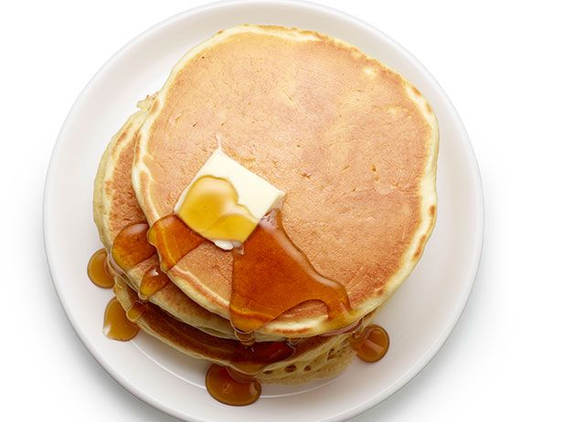 How to Make Perfect Pancakes : Recipes and Cooking : Food Network  Added vanilla and they were great!
