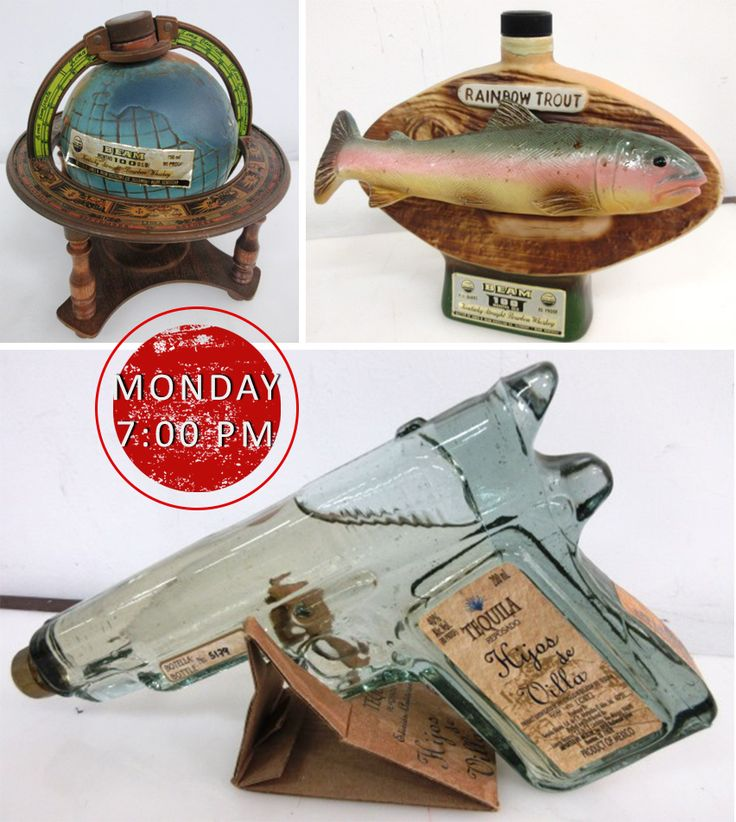 Always wanted to stash your bourbon in a world globe, rainbow trout or shoot tequila at a mate?   Well, funny you say that, because we have a collection of quality alcohol and novelty bottles available online for bidding NOW with all that and more! https://buff.ly/2nIjPhi