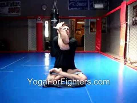 Yoga For Fighters: Shoulder Openers (Breathing) for for Gracie Brazilian Jiu-Jitsu (BJJ) and Mixed Martial Arts......Please Rate this Video & Tell Me What you Think below